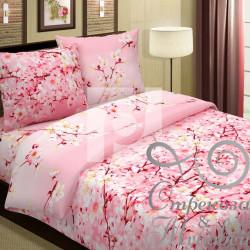 Поплин 220 см Сакура (розовый) 571-1 Традиция Текстиля, хлопок 100%. Арт.87353