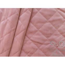 Курточная бархат на синтепоне стежка 150 см (001 розовый) 100% п/э 220 г/м кв.Арт.01/20559