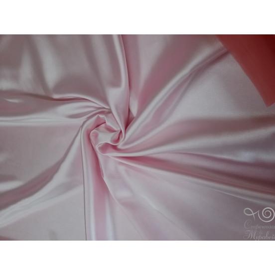Атлас 150 см (133 детско-розовый) 95%п/э+5%эластан 150 г/м.п.  Арт. 24842